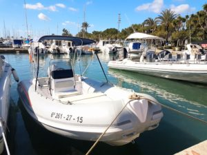 rent a boat without licence mallorca