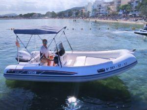 selva 470 rent a boat mallorca